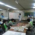写真: 訓練の記者会見