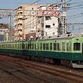写真: 京阪電車 旧塗装編成