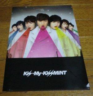 Kis-My-KissMintクリアファイル