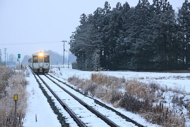 雪の釜石線