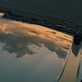 Photos: ボンネットに閉じ込めた夕暮れ。