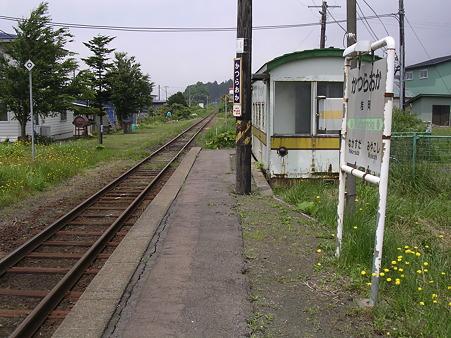 桂岡駅ホーム2