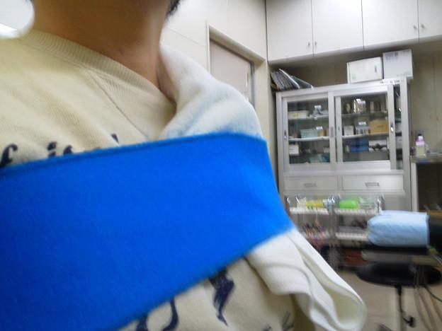 左肩めぇ~早く治れよぉ~( ´Д`) 週3リハビリ辛いけど、看護師いるから良しとしよ(´▽`)