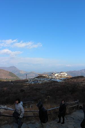 大涌谷の山頂