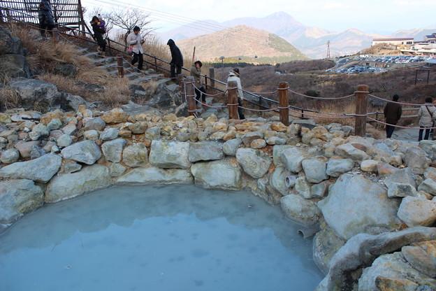 大涌谷の温泉