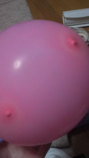 おっぱい 風船
