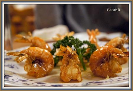 人気�1上海海老の炒め
