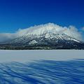 写真: 羊蹄山