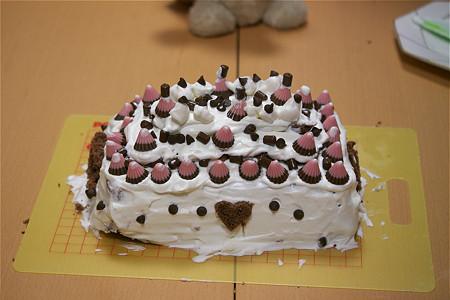 娘sお手製(70%)のケーキ