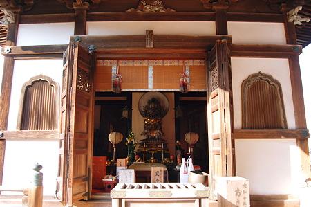2012年01月09日長岳寺 延命殿 普賢菩薩観音