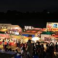 写真: 盆踊り 夜店