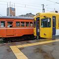 一畑電車2100系とデハニ50形