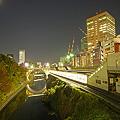 お茶の水駅から見た夜景