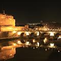 Castel Sant'Angelo and ponte Sant'Angelo (サンタンジェロ城とサンタンジェロ橋)