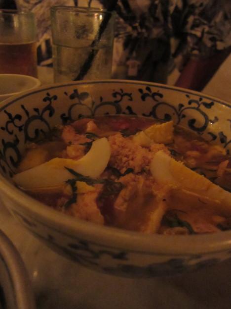 2011/10/09 フォーシーズンズホテル「WARUNG MIE」で夕御飯