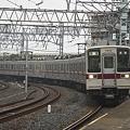 鐘ヶ淵駅到着 DX16-85mm f/5.6開放