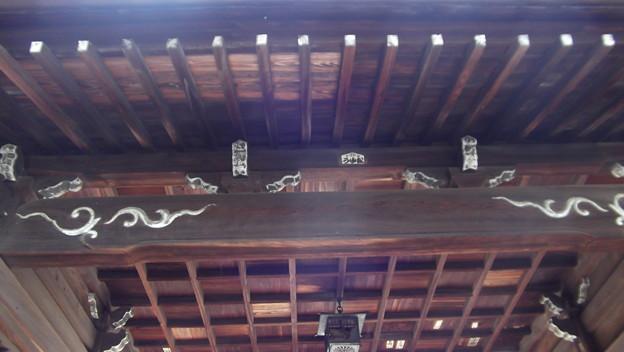 沼名前神社 随神門(随身門)