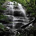 写真: 九段の滝・青森