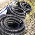 Photos: 暗渠用排水管