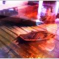 写真: A Little Boat on the Table