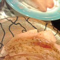 写真: のどぐろ炙りとブリ