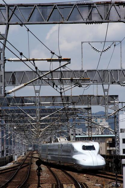 九州新幹線「さくら」がやって来た!