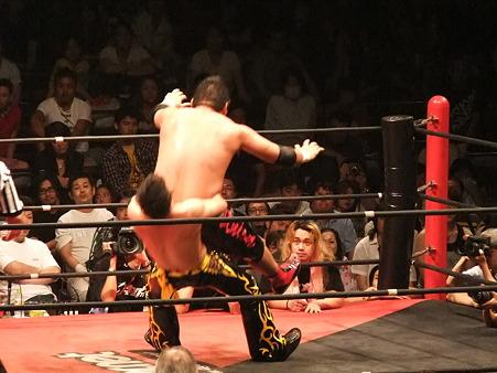 DDT 両国ピーターパン2011 〜二度あることは三度ある〜 KO-D無差別級選手権 石川修司vsKUDO (13)