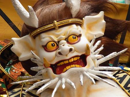 博多祇園山笠 2010 飾り山 走る飾り山 博多風神雷神恵(はかたふうじんらいじんのめぐみ)7