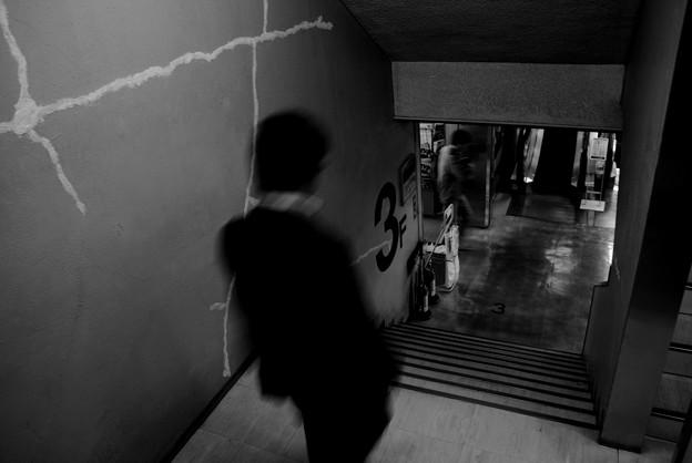 Photos: ラジオ会館の階段