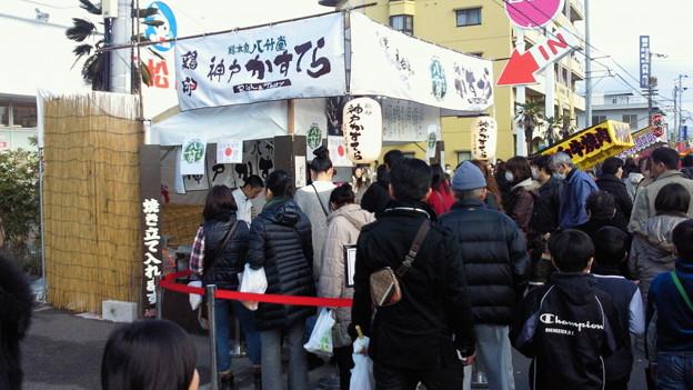 Photos: 神戸かすてらに行列