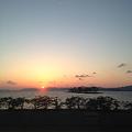 Photos: 松江の夕日