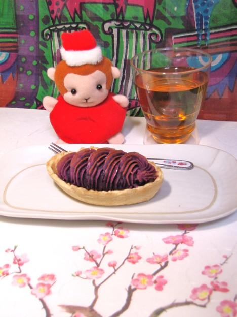 紫芋のタルト {2月19日}