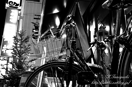自転車 NEX-5 SEL30M35