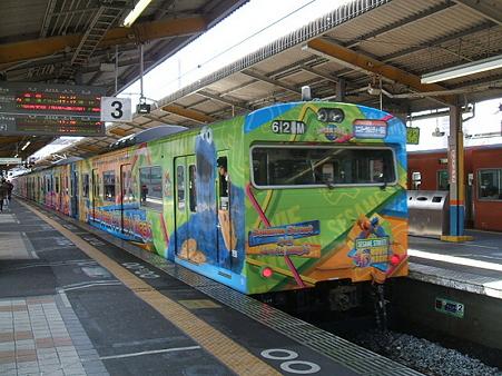 103系桜島線(西九条駅)7
