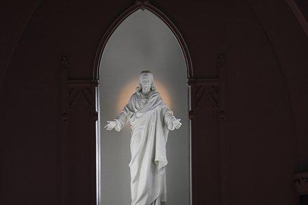2011.12.19 山手 カトリック山手教会 イエスの御心の像