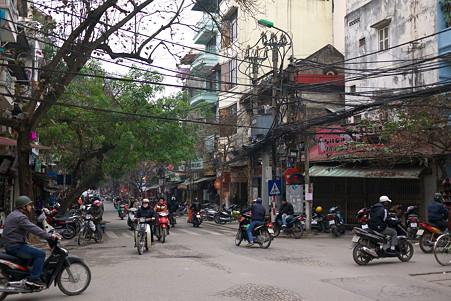2012.03.12 ハノイ 旧市街 バイク