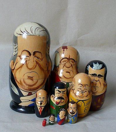 1997.11 ハバロスク マトリョーシカ人形