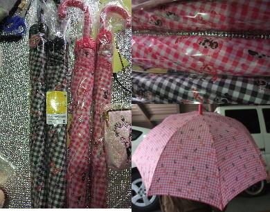 プードル柄の傘