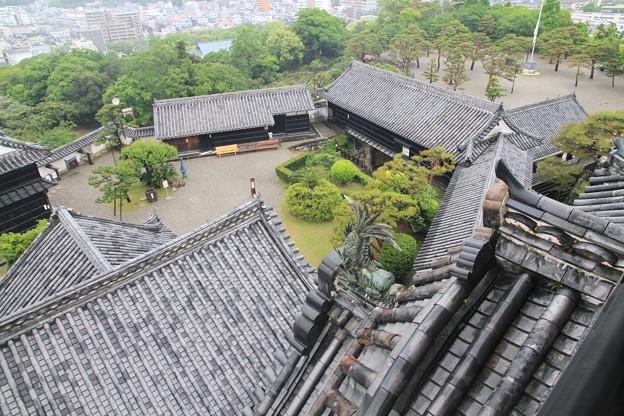 Photos: 110511-112四国・中国地方ロングツーリング・高知城・天守高欄から