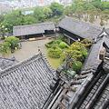 110511-112四国・中国地方ロングツーリング・高知城・天守高欄から