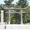 110519-84四国中国地方ロングツーリング・出雲大社参道正面
