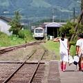 Photos: お家に帰ろ 終着駅のある日の風景