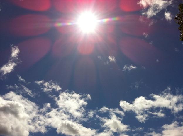 今日の空@三重県亀山市☆台風一過 #sky #sora