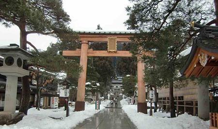 櫻山八幡宮 2012 冬-240121-1