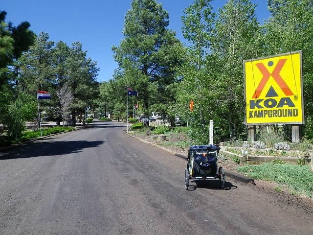 アメリカではよく知られた私営キャンプ場KOA(KampOfAmerica)