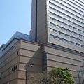 写真: 中央区日本橋蛎殻町2丁目。...