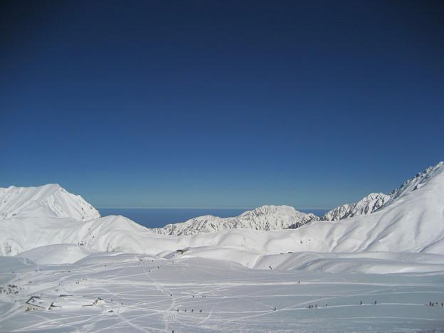 立山から日本海を望む 2007-11-25