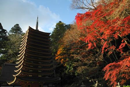 談山神社の紅葉-2
