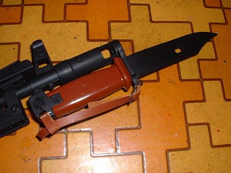 LS「AK74」にLS(有井)「銃剣」銃剣を装着 Doburoku-TAO