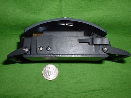 ベルト・バックル・ピストル レジン製モデルガン 下から Doburoku-TAO